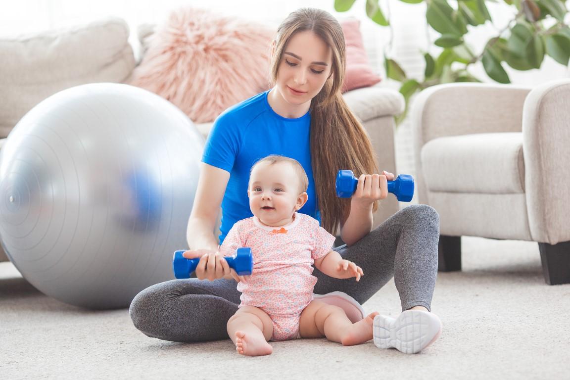 fitness dupa cezariana
